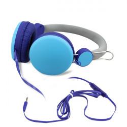 Cuffie con microfono integrato - controllo volume - ideale per smartphone