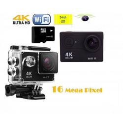 Sport Cam/Action Cam 16 Megapixel 4K Impermeabile
