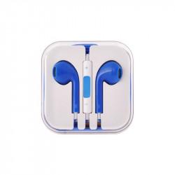 Auricolari BLU con microfono per iPhone 4/5/6/7 e smartphone - controllo del volume
