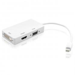 Cavo Adattatore Minidisplay port VGA/DVI-I/HDMI