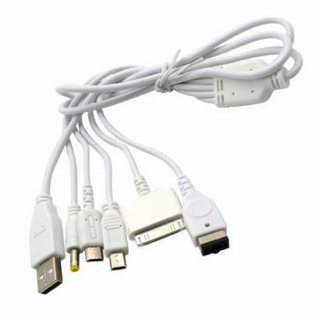 Cavo Adattatore Universale da USB a Iphone 3/4 MicroUSB MiniUSB iPod