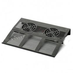 Cooling Pad Metallico Pieghevole 2 Ventole
