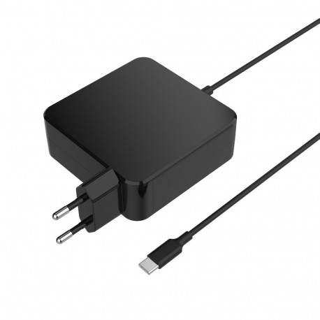 45W PD adapter with fixed cable EU plug