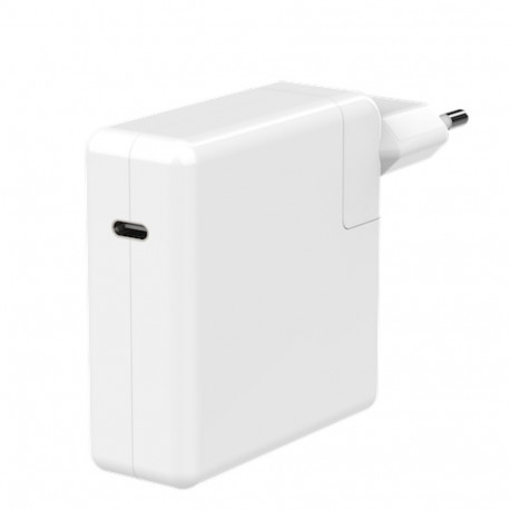65W PD adapter with fixed cable EU plug