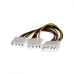 10 pz Cavo Alimentazione Sdoppiatore Y Molex 4 Pin a 2 x Molex 4 Pin