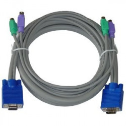 Cavo per KVM VGA/PS2 lunghezza 1,5 m master switch