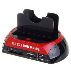 "HDD Docking Station USB2.0 Per Hard Disk 2.5"" e 3.5"" ( 1 x IDE 1 x SATA)"