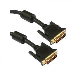 Cavo Monitor DVI digitale M/M dual link 1,5 mt (DVI-D)