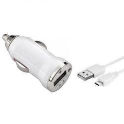 Kit caricabatteria 2 in 1 AUTO / CAVO smartphone Micro USB