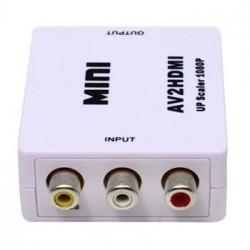 Adattatore convertitore da RCA AV to hdmi Audio video PAL+NTSC