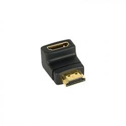 Adattatore HDMI Maschio / Femmina con Angolo a 90°