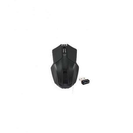 Mouse Wireless LASER 1600 DPi, 2 Tasti + Scroll, NERO