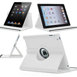 Leggio/Stand/Custodia CLASSIC Apple iPad 2 iPad 3 iPad4 -PU Rotazione a 360° NERO