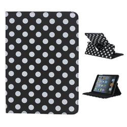 Leggio/Stand/Custodia POIS Apple iPad 2/3/4 -PU Rotazione a 360° NERO