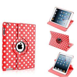 Leggio/Stand/Custodia POIS Apple iPad 2/3/4 -PU Rotazione a 360° RED
