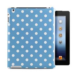 Leggio/Stand/Custodia POIS Apple iPad 2/3/4 -PU Rotazione a 360° BLUE