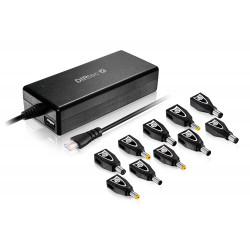 Alimentatore Universale per Notebook 90W Autovoltage Autosettante 10 connettori