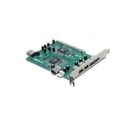 Scheda controller PCI 3 USB 2.0 + 3 Firewire