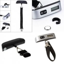 Pesa Valigie Bilancia Digitale con Estensimetro, Capacità 50 kg