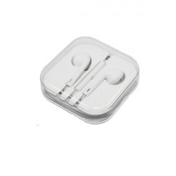 AURICOLARI con microfono Ear Pods compatibili iPhone 4/5/6 controllo del volume