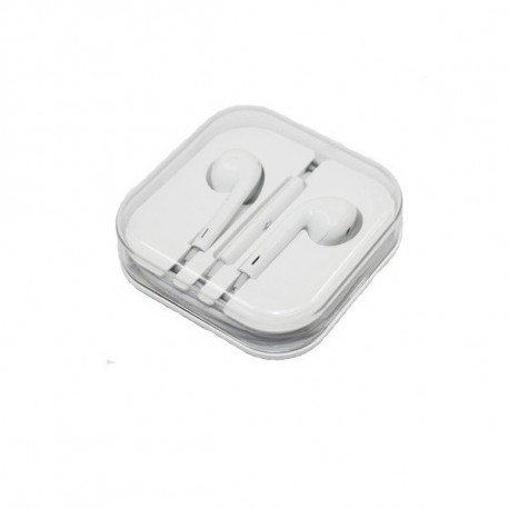 AURICOLARI con microfono Ear Pods compatibili iPhone 4/5/6 controllo del volume
