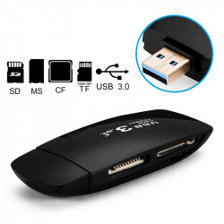 Card Reader e Writer USB 3.0 Pendrive